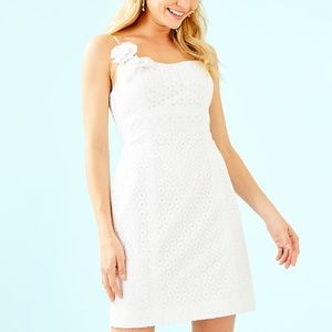 Lilly Pulitzer Liz dress NWT white size 14